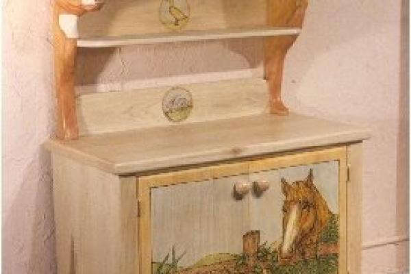 Childs Toy Cabinet